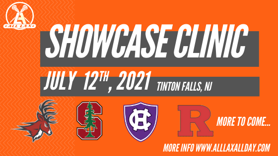 College Showcase Clinic July 12th